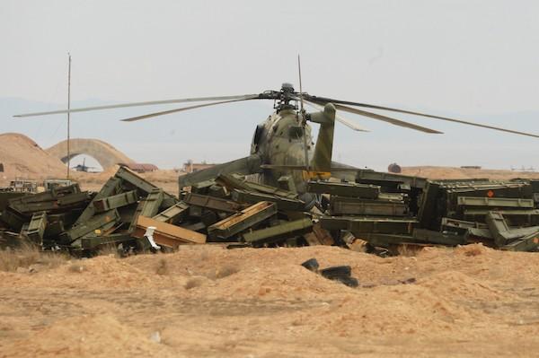 сирия вертолет