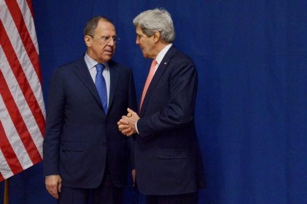 Лавров и Керри, фото пресс-службы МИДа