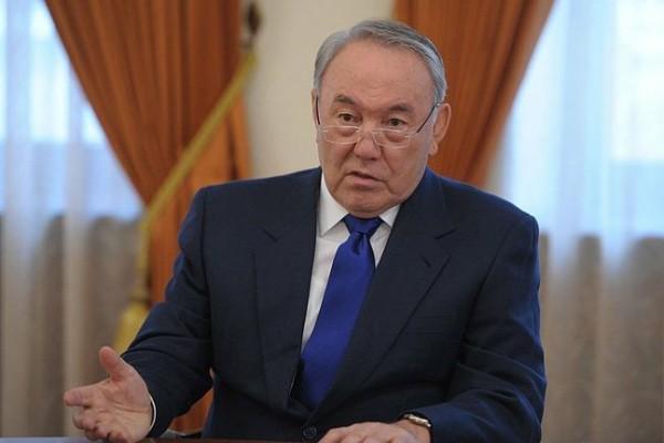 Нурсултан Назарбаев, фото пресс-службы Кремля