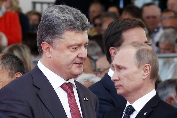 Путин Порошенко, фото с сайта maxpark.соm