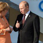 Путин встретился с Меркель на полях G20 — Обсудили Украину и Сирию