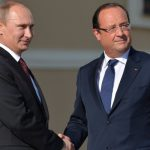 Путин встретился с Олландом — Обсудили Сирию и Украину