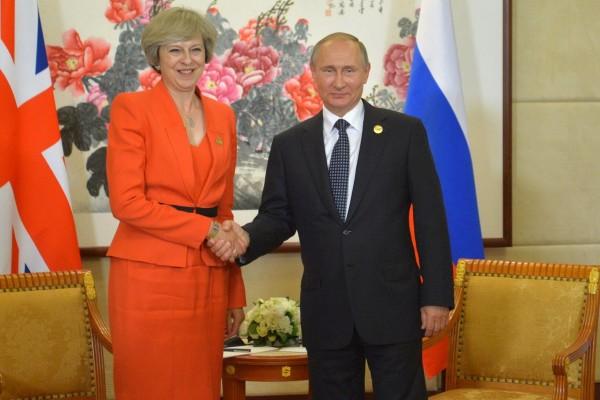 Путин и Тереза Мэй