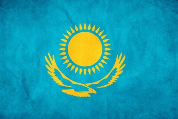 Флаг Казахстан