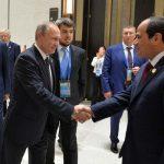 Путин встретился с президентом Египта — Стороны обсудили вопросы двустороннего сотрудничества