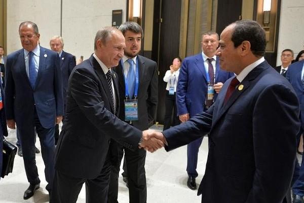 Путин и Сиси