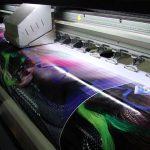 Широкоформатная печать наиболее популярна в рекламной индустрии
