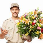 Доставка цветов сразу же стала популярной