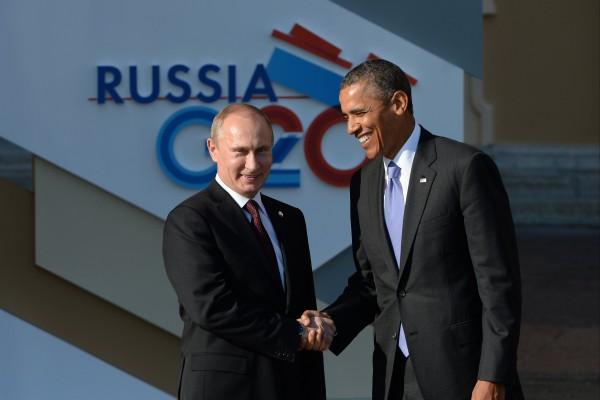 Путин и Обама (2)