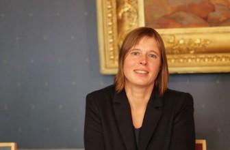 Президентом Эстонии стала Керсти Кальюлайд — Она была единственным кандидатом