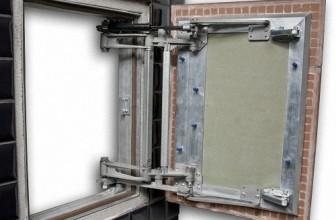 Сантехнические лючки расширили возможности дизайна интерьеров
