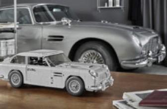Lego выпустил копию Aston Martin Джеймса Бонда