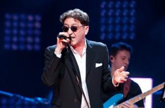 Мощный юбилейный концерт певца с мощным голосом