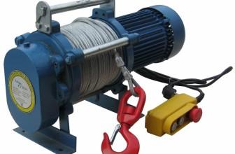 Электрические лебедки используются многими предприятиями
