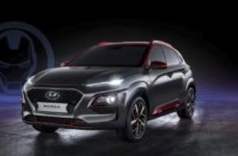 Hyundai представила кроссовер Kona в стиле Железного человека