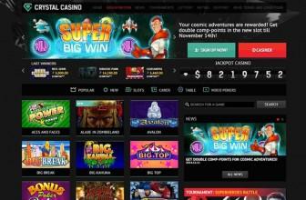 Казино Кристал: самые разнообразные варианты игр