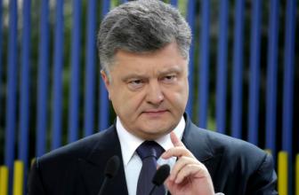 Украина расширит список санкций против России — Порошенко — В него включат победителей на выборах в Крыму