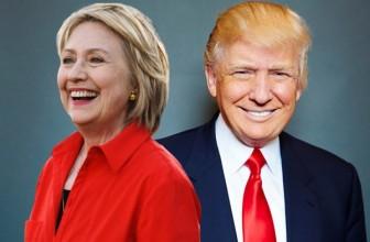 Хиллари Клинтон опередила Дональда Трампа в очередном опросе — На 4 процентных пункта