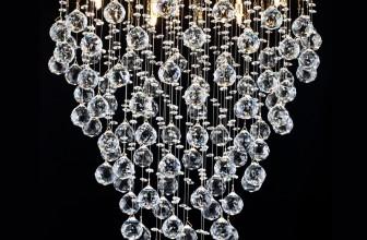 Хрустальные люстры добавят роскоши любому инетрьеру