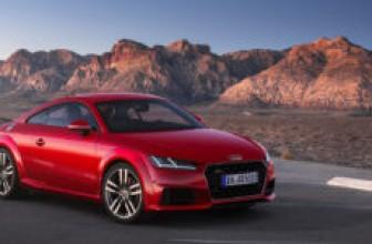 Audi TT получила обновление и лимитированную версию Audi TT 20 Years