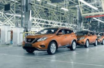 Завод Nissan в Санкт-Петербурге останавливает производство на 3 недели