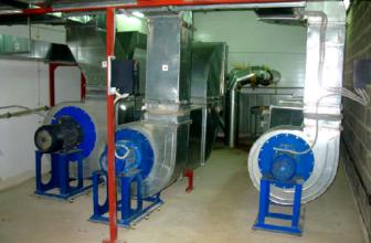 Разновидности вентиляционного оборудования