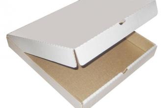 От коробки во многом зависит сохранность пиццы