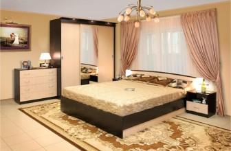 Классическая мебель подойдет для любой спальни